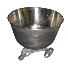 Дежа для ТММ-330 нерж. с тележкой