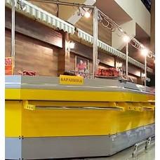 Стол охлаждаемый Lida угол S трапеция внутренний (с накопителем)