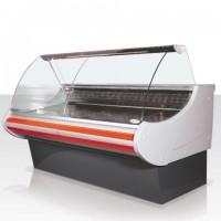 Витрина холодильная Golfstream Нарочь (Nr) 240 ВС-0,58-1,72-1-4L (эконом)