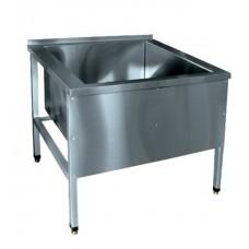 Ванна моечная (котломойка) Abat ВМП-9-1 нерж.