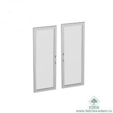 Двери (рамка алюминиевая) к шкафам Тр-2.1 и Тр-2.3 (2 шт.)