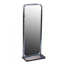 (Т)Зеркало настенное с полкой хром