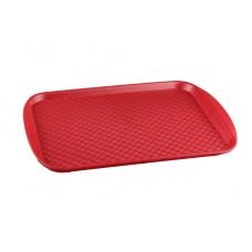 Поднос Restola 450х350 мм, с ручками, красный