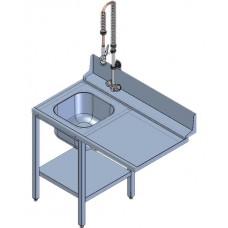 Стол предмоечный Abat СПМФ-7-1 для МПК-500Ф
