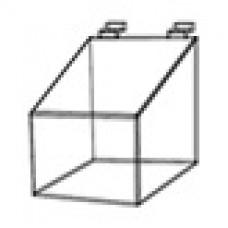 Короб пластиковый прозрачный на экономпанель 150х150х150
