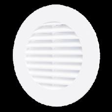 10RKL, Решетка вентиляционная круглая D125 с фланцем D100