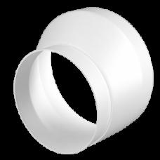 1012,5РЭП, Соединитель эксцентриковый круглых воздуховодов D100/125