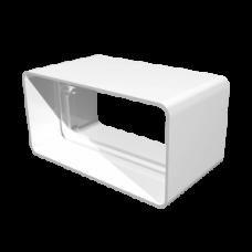 Соединитель прямоугольных воздуховодов 55х110