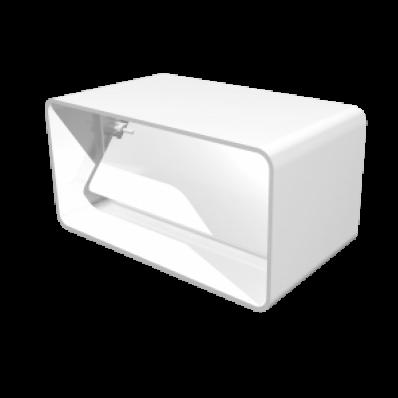 Соединитель прямоугольных воздуховодов с обратным клапаном 60х120