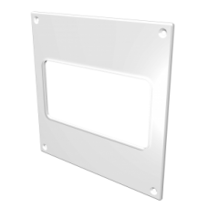 612НПП, Накладка торцевая 150х150 для прямоугольного воздуховода 60х120