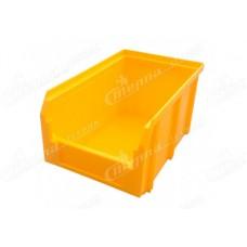 Пластиковый ящик Стелла V2 желтый