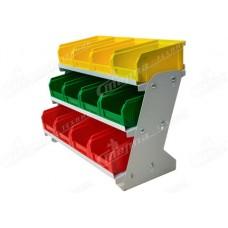 Настольный органайзер с ящиками V1 ( 12 ящиков)