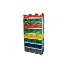 Комплектация 1 стеллажа СТ для хранения ящиков V3 и V4