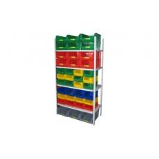 Комплектация 6 стеллажа СТ для хранения ящиков V3 и V4