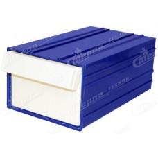 Пластиковый короб Стелла С2 синий/белый
