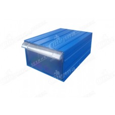Пластиковый короб 501-А, синий/прозрачный