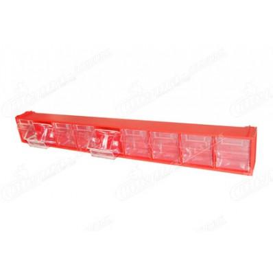 Пластиковые откидные короба, боксы FOX-101 для хранения мелкоштучных изделий