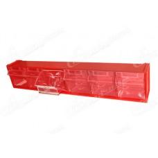 Пластиковые откидные короба, боксы FOX-102 для хранения мелкоштучных изделий