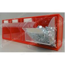 Пластиковые откидные короба, боксы для хранения мелкоштучных изделий FOX-104