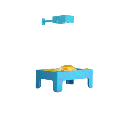 Интерактивная сенсорная панель «Аква»