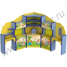 Игровой комплекс «Хозяюшка» угловой