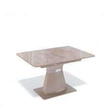 Стол  BS1200 капучино/стекло камень капучино