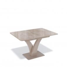 Стол  BP1200 капучино/стекло камень капучино