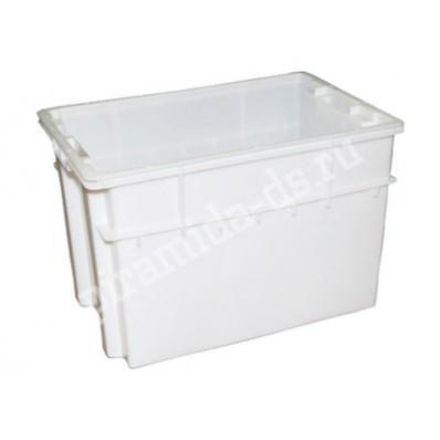 Р-264 Ящик для мясо-молочной и хлебной продукции №4 с крышкой раз 600х400х400