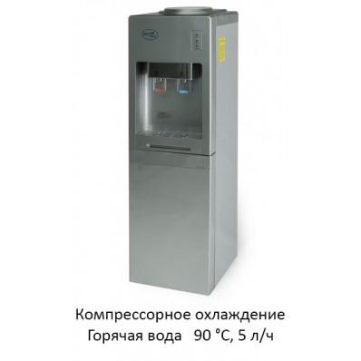 Кулер Aqua Well 1.5-JX-1-ПК серебряный