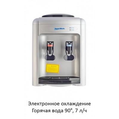 Кулер Aqua Work 0.7-TD серебро