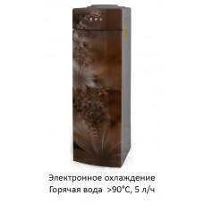 Кулер Aqua Well 2-JXD-5 ПЭС золотой флуоресцентный
