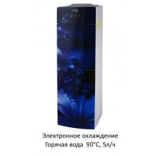 Кулер Aqua Well 2-JXD-5 ПЭС синий флуоресцентный