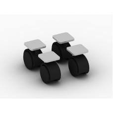 Комплект колес к подставке под системный блок 78