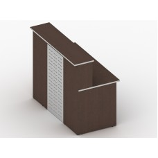 Проекты офисной мебели – Стойка прямая экран металл правая 41.07PR/441.06
