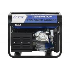БЕНЗОГЕНЕРАТОР TSS SGGX 6000 E3